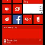 Windows Phone Blue screenshot