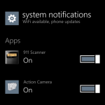 Windows Phone Blue screenshot