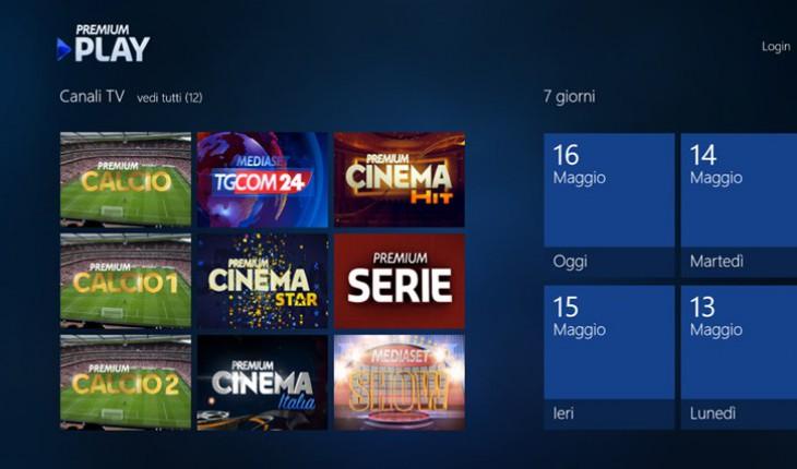 Premium play per pc e tablet windows 8 disponibile al for Premium on demand