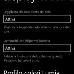 Profilo colori Lumia