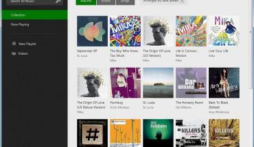 Versione Web di Xbox Music