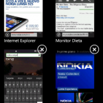 Nokia sWiPe - Multi Tasking