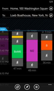 Here Transit per Windows Phone 8