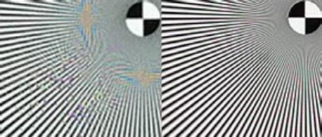 Immagine da 5 Mpx tradizionale e una da 5 Mpx sovracampionata