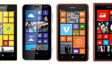 Lumia 520 vs Lumia 620 vs Lumia 625 vs Lumia 720