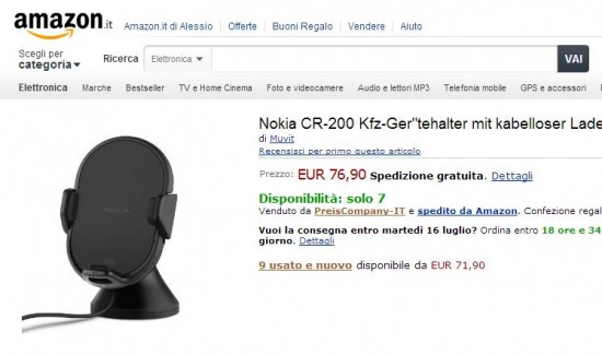 Nokia CR-200 su Amazon