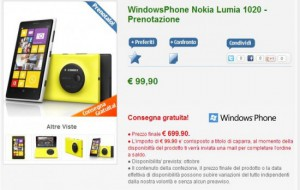 Nokia Lumia 1020 su Nstore