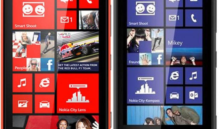 Nokia Lumia 820 620