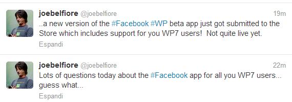 Twitter Joe Belfiore