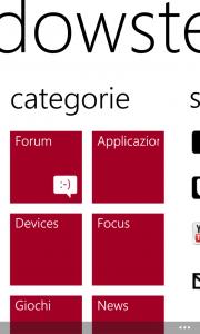 Categorie Windowsteca App