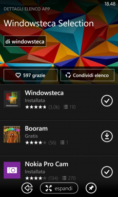 Windowsteca Selection