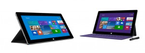 Surface 2 e Surface Pro 2