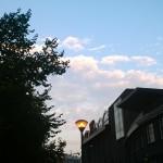 Foto scattata con Lumia 625 al tramonto