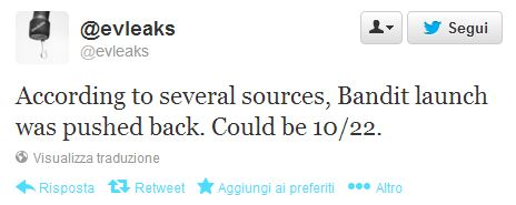 Tweet evleaks