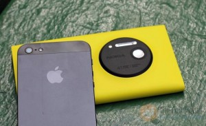 Nokia Lumia 1020 vs iPhone 5S