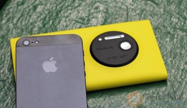 Nokia Lumia 1020 vs iPhone 5S