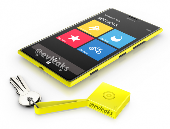 Nokia Lumia 1520 e Treasure Tag