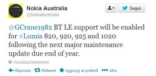 Tweet Nokia Australia