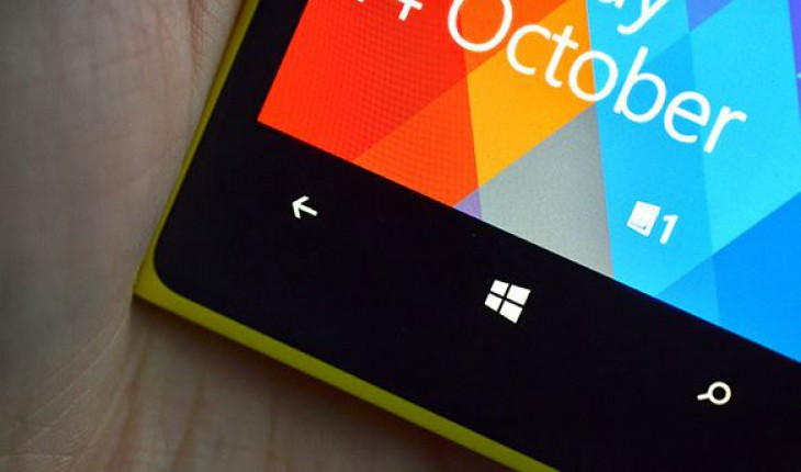 I tasti di Windows Phone