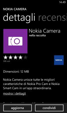 Nokia Camera Update