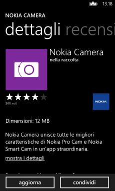 Update Nokia Camera