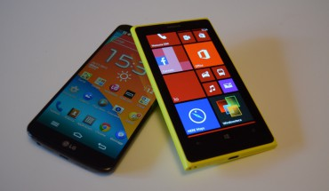 Nokia Lumia 1020 vs LG G2
