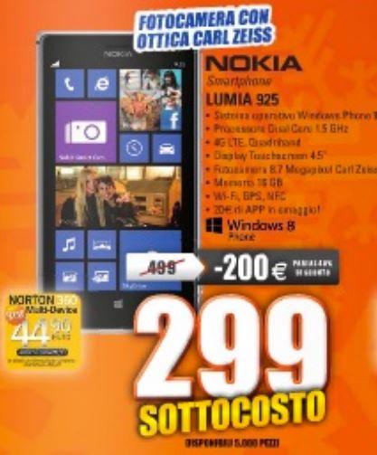 Offerta Nokia Lumia 925