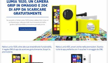 Promo Nokia Lumia 1520 - 1020 - 925