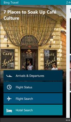 Bing Viaggi Beta