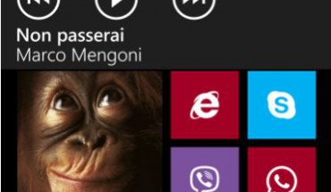 Lettore musicale WP8