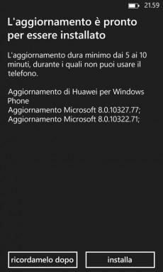 Update GDR2 Huawei Ascend W1