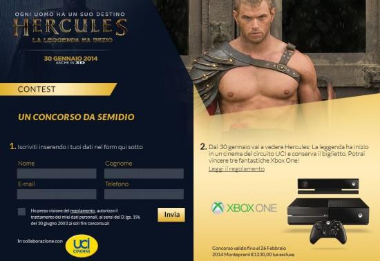 Contest Hercules