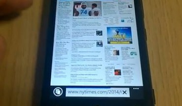IE11 su Nokia Lumia 920