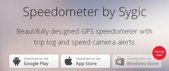 Speedometer per WP8