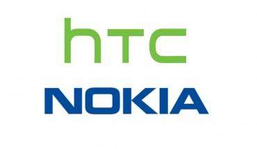 Logo di HTC e Nokia