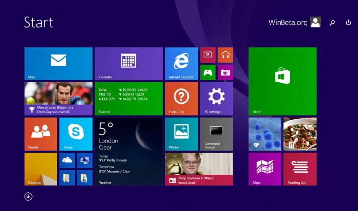 Update 1 di Windows 8.1