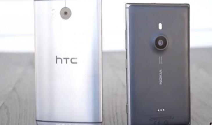 Nokia Refocus su Lumia 925 vs UFocus di HTC One M8