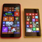 Nokia Lumia 1320 e Nokia Lumia 1020