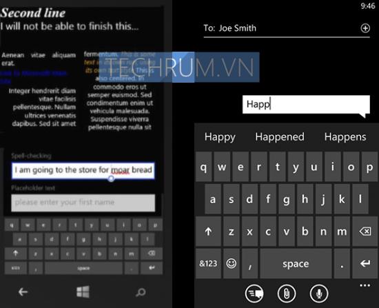 Tastiera Windows Phone