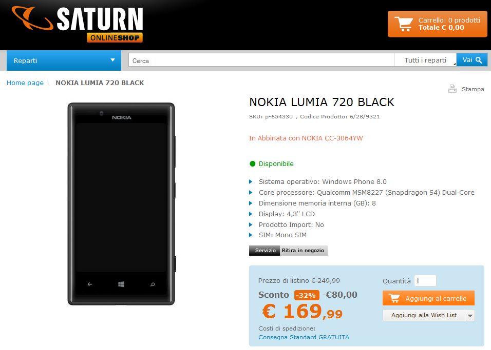 Nokia Lumia 720 Vs 920 Nokia Lumia 720 a soli...
