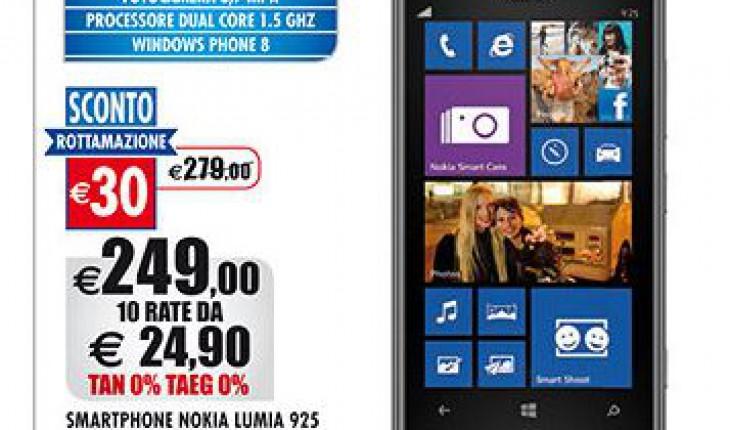 Nokia Lumia 925 a soli 249 Euro da Auchan