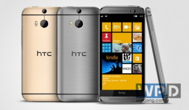 HTC One M8 con WP8.1