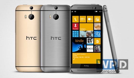 HTC One M8 con WP8.1