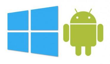 Windows e Android Logo