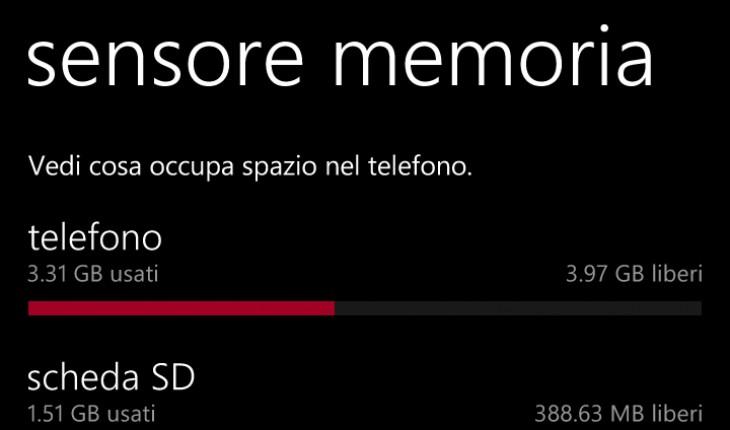 Sensore Memoria