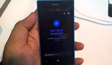 Cortana su Nokia Lumia 520