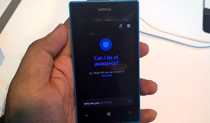 Cortana su Nokia Lumia 520