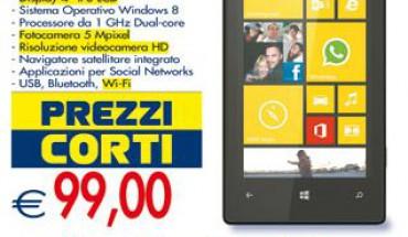 Nokia Lumia 520 in offerta