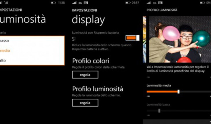 Display Lumia Cyan