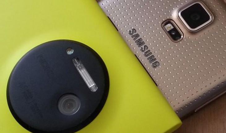 Nokia Lumia 1020 vs Samsung Galaxy S5